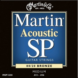 MARTIN SP BRONZE MEDIUM 13/56 JEU MSP3200