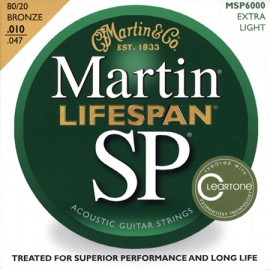 MARTIN SP LIFESPAN BRONZE EXTRA LIGHT 10/47 JEU MSP6000