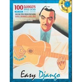 REINHARDT EASY DJANGO VOLUME 3 + CD (PACK PARTITION + CD)