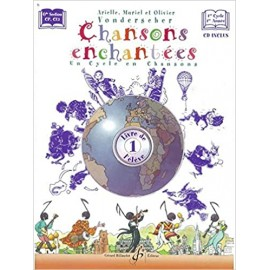 VONDERSCHER CHANSONS ENCHANTEES 1 ANNEE (PARTITION+CD)