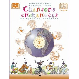VONDERSCHER CHANSONS ENCHANTEES 3 (PARTITION+CD)