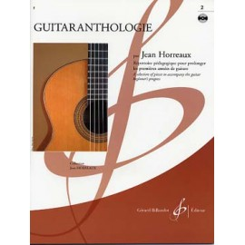 HORREAUX GUITARANTHOLOGIE 2 + CD (PACK PARTITION + CD)
