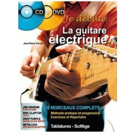 VIMONT JE DEBUTE LA GUITARE ELECTRIQUE (PACK PARTITION+CD DVD)