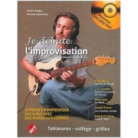 ROGGE ESPINASSE JE DEBUTE L'IMPROVISATION (PACK PARTITION+CD)