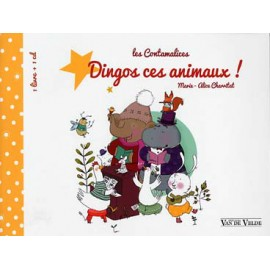 CHARRITAT DINGOS CES ANIMAUX  VV407 (PACK PARTITION+CD)