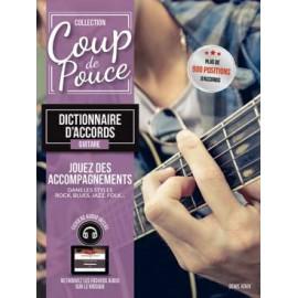 ROUX COUP DE POUCE DICTIONNAIRE D'ACCORDS MF915 (PACK PARTITION+CD)