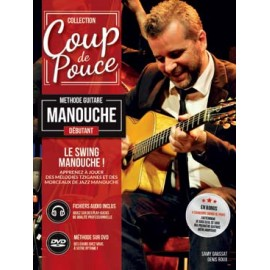 ROUX SWING MANOUCHE DEBUTANT MF2106 (PACK PARTITION + CD)