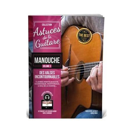 ASTUCES MANOUCHE VOLUME 3 MF2820 (PACK PARTITION + CD)