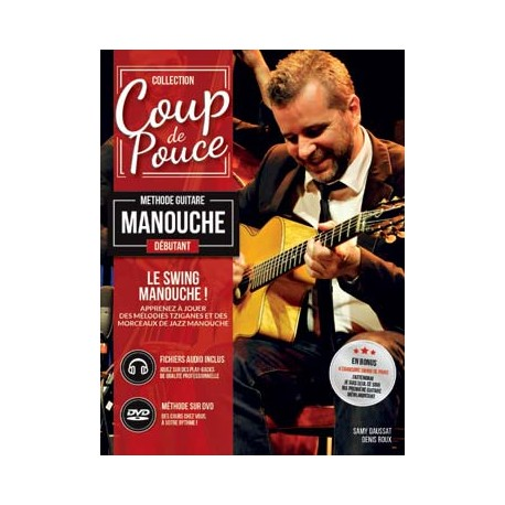 ROUX SWING MANOUCHE DEBUTANT MF2106 + DVD (PACK PARTITION + DVD)