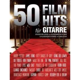 50 HITS FILMS POUR GUITARE SOLO