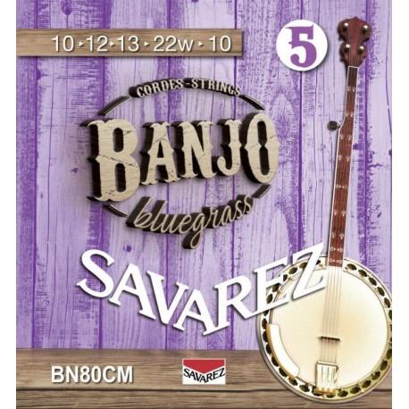 SAVAREZ BANJO 5 CORDES BLUEGRASS BOUCLE BN80CM