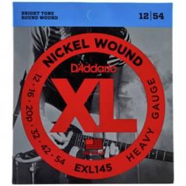 D'ADDARIO NICKEL WOUND HEAVY 12/54 JEU EXL145