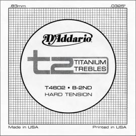 D'ADDARIO TITANIUM HARD CORDE 2 SI T4602