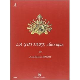 MOURAT LA GUITARE CLASSIQUE VOL A (PACK PARTITION+CD)