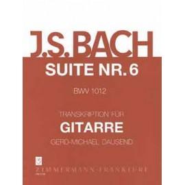 BACH SUITE VIOLONCELLE 6 BWV1012 DAUSEND ZM2736