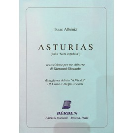 ALBENIZ ASTURIAS BE3863