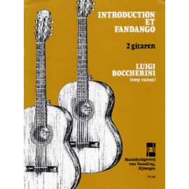 BOCCHERINI INTRODUCTION ET FANDANGO  VT234
