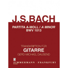 BACH PARTITA BWV 1013 DAUSEND ZM33530