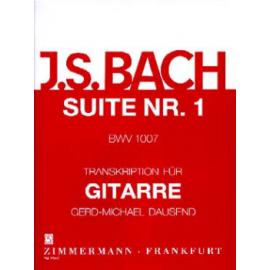 BACH SUITE N°1 BWV 1007  ZM27310