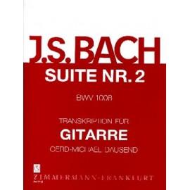 BACH SUITE VIOLONCELLE 2 DAUSEND BWV 1008 ZM27320