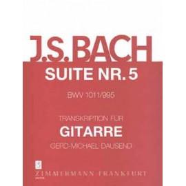 BACH SUITE VIOLONCELLE 5 BWV1011 995 DAUSEND ZM2735