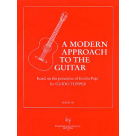 TOPPER A MODERN APPROCH TO THE GUITAR BOOK 3  BVP779