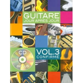 DESGRANGES LA GUITARE JOUR APRES JOUR VOLUME 3 CONFIRME + CD