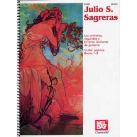 SAGRERAS GUITAR LESSONS 1 A 3 ECH881