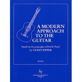 TOPPER A MODERN APPROCH TO THE GUITAR BOOK 1 BVP777