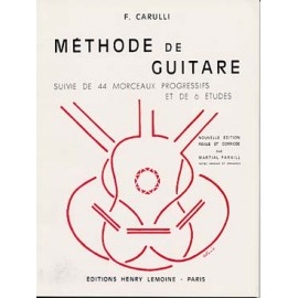 CARULLI  METHODE DE GUITARE  HL21149