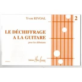 RIVOAL DECHIFFRAGE À LA GUITARE 2