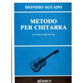 AGUADO METHODE PER CHITARRA BE1290