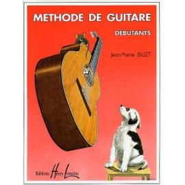 BILLET METHODE DE GUITARE DEBUTANTS HL26002