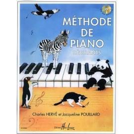 HERVE POUILLARD METHODE DE PIANO DEBUTANT