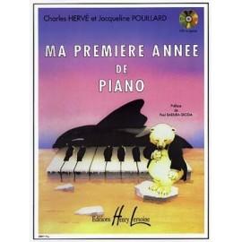 HERVE POUILLARD MA 1ERE ANNEE DE PIANO