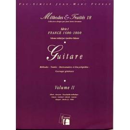DELUME GUITARE METHODES ET TRAITÉS VOLUME 2 5878