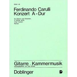 CARULLI KONZERT A DUR  GKM42