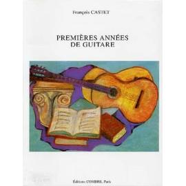 CASTET PREMIERES ANNEES DE GUITARE
