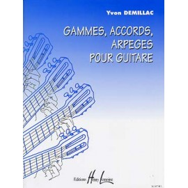 DEMILLAC GAMMES ACCORDS ARPEGES HL26397