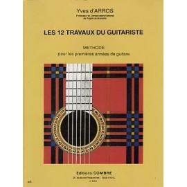 D'ARROS 12 TRAVAUX DU GUITARISTE