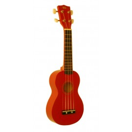 UKULELE WIKI UK10 SOPRANO ORANGE GLOSS UK10G OR