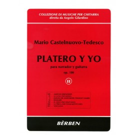 CASTELNUOVO-TEDESCO PLATERO Y YO 2 BE1702