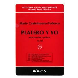 CASTELNUOVO-TEDESCO PLATERO Y YO 4 BE1704
