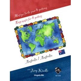 MUSIQUE FACILE 4 GUITARES AUSTRALIE  DZ1318