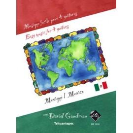 MUSIQUE FACILE 4 GUITARES MEXIQUE DZ1319