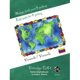MUSIQUE FACILE 4 GUITARES VENEZUELA DZ1004