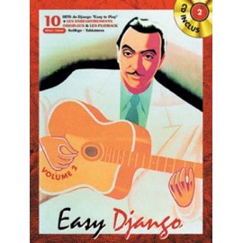 REINHARDT EASY DJANGO VOLUME 2 + CD