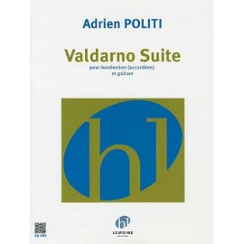 POLITI VALDARNO SUITE BANDONÉON (OU ACCORDEON) GUITARE 29287