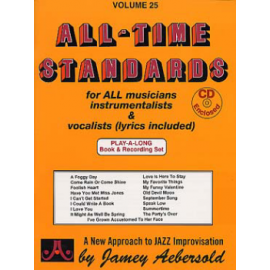 AEBERSOLD 25 ALL TIME STANDARD + CD