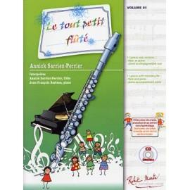 SARRIEN-PERRIER LE TOUT PETIT FLUTE  FLUTE ET PIANO  04811